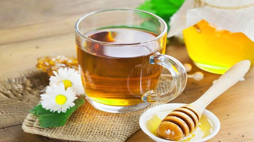 cách pha mật ong uống vào buổi tối