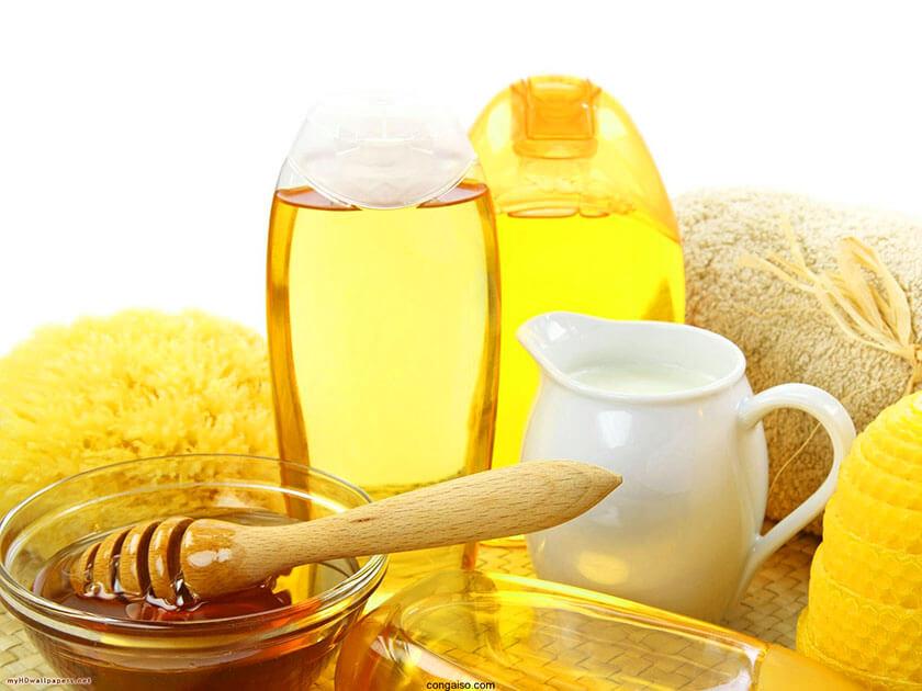 sử dụng mật ong hiệu quả kết hợp sữa chua
