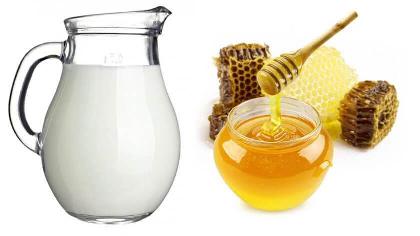 cách trị đau họng bằng mật ong với sữa chua