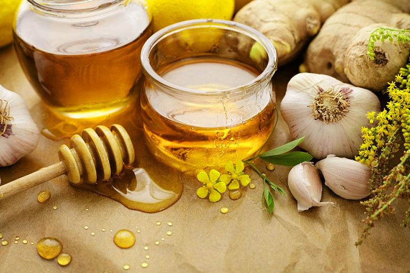 chữa viêm họng bằng mật ong với tỏi