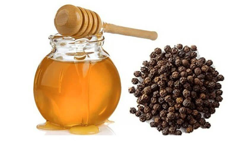 trị đau họng bằng mật ong