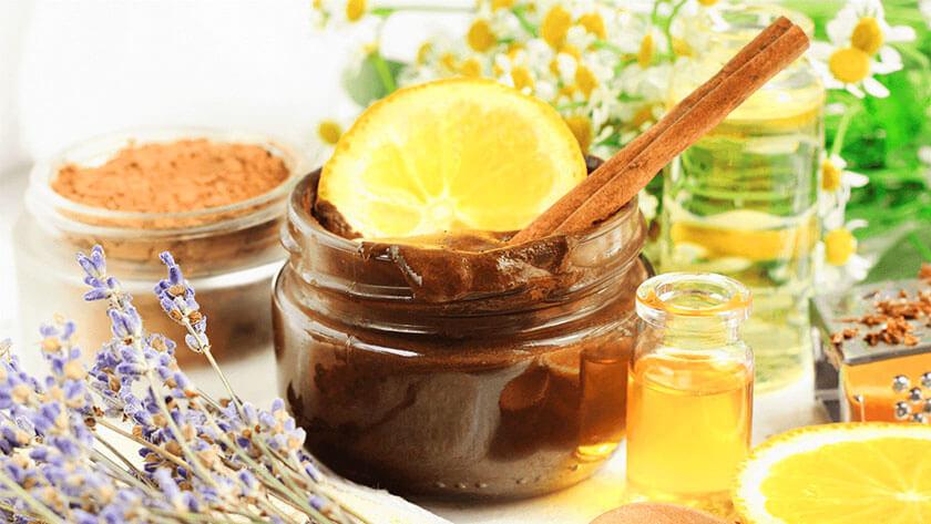 trị viêm họng bằng mật ong kết hợp chanh